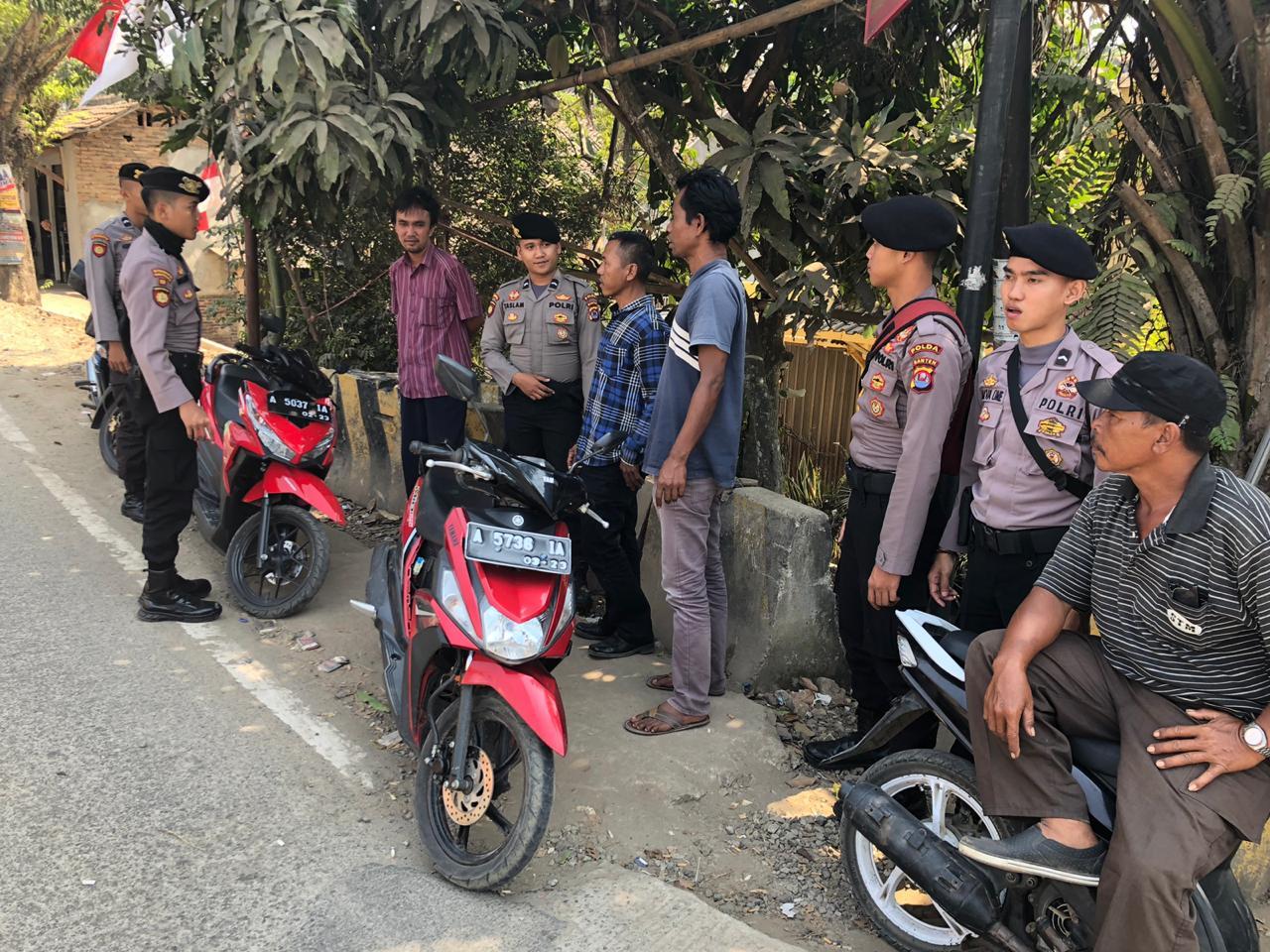 Cegah Radikalisme Ditsamapta Polda Banten Patroli Quick Wins Program 1
